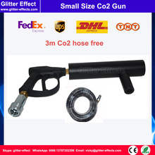 Buy Disco theater mini DJ Co2 gun Hand-hold portable night club stage special effect fog jet machine 3m Co2 hose DJ smoke gun for $156.00 in AliExpress store