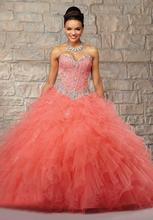 Vestidos de 15 Anos Sweet 16 Dresses Quinceanera 2016 Ball Gown Beading Crystal Beaded Cheap Gowns B9 - Audrey Hepburn dress store