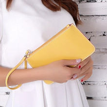 5 Color Women Clutch Bag 2015 Black Clutch Purse Evening Bags Womens Brand Handbag Yellow PU Leather Purse Day Clutches
