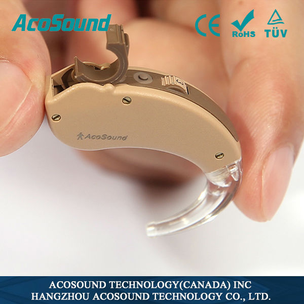 AcoSound AcoMate 440 BTE Behind The Ear Programmable Digital Hearing Aid Medical Ear Hearing Aids(China (Mainland))