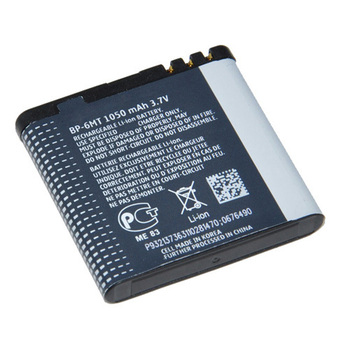 long life BP-6MT mobile phone battery For Nokia N81 E51 N82 N82(8G) 6720C 1050mAh Free Shipping