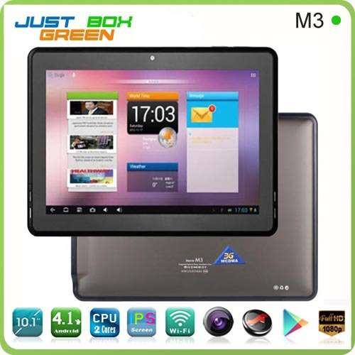 Original PiPO M3 Built-in 3G Tablet PC 10 inch Android 4.1 Rockchip 3066 Dual Core 1G RAM 16G ROM Bluetooth HDMI 10.1 inch(China (Mainland))