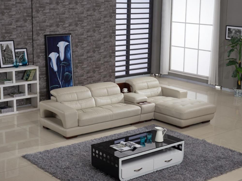 am ricain canap en cuir ensembles 6805 dans canap s salle de s jour de meubles sur aliexpress. Black Bedroom Furniture Sets. Home Design Ideas