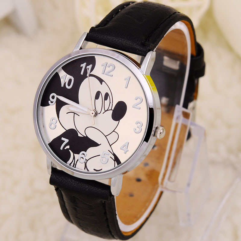 Cartoon Watch Paper Women Limited Stainless Steel Glass 20mm To 29mm Watch 2015 New Ms. Cute Cartoon Children's Electronic Strap(China (Mainland))