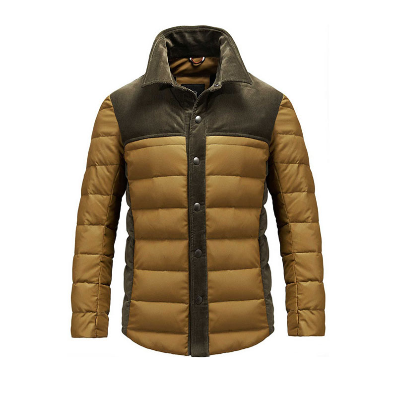 High Quality Thick Warm Jacket Fashion Slim Button Winter Men Jacket Zippers Cotton Parka Men Thick Homme Outwear Plus Size(China (Mainland))