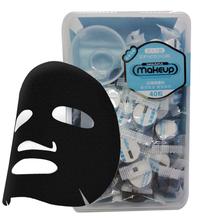 Carta Maschera facciale in Bianco e Nero Compressa Maschere per la Pelle cura Maschera per la Casa Spa Maschera di Cotone Pastiglie In Fibra di Cotone 40 pz(China (Mainland))