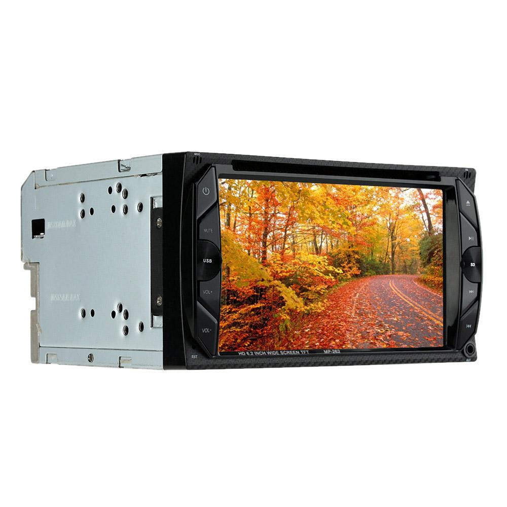 6.2 inch 2 Din Car DVD Player Bluetooth FM USB Autoradio 2 Din Multimedia Car for Toyota VW BMW Frod GMC Audi(China (Mainland))