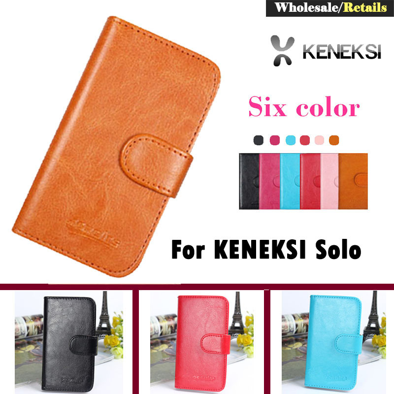 In Stock! Luxury Stand Wallet Customize Designer Leather Case For KENEKSI Solo Smart Phone Bag Cover Retro Vintage Book(China (Mainland))