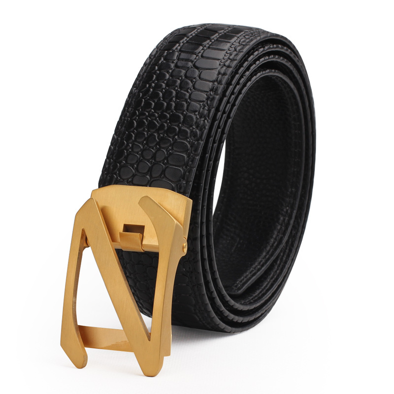 2015 Brand New Twvzol Men's Luxury Genuine Leather Belts Luxury Summer Style Fashion Auto mental Z Buckle Belts For Men(China (Mainland))