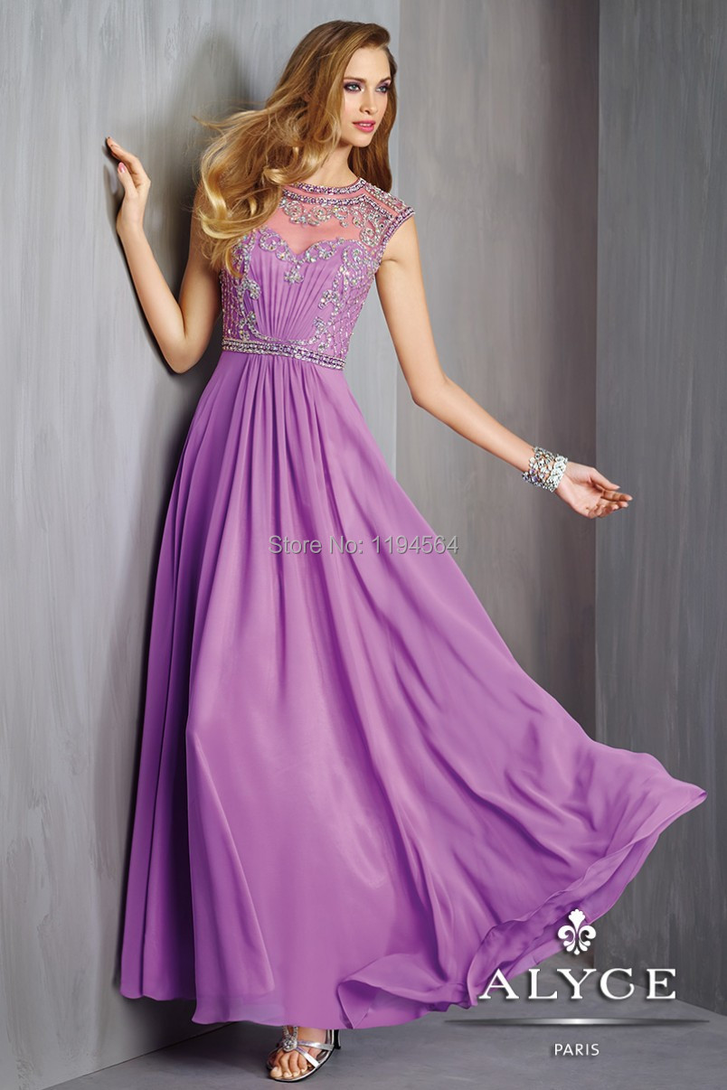 Compare Prices on Lilac Chiffon Prom Dress- Online Shopping/Buy ...
