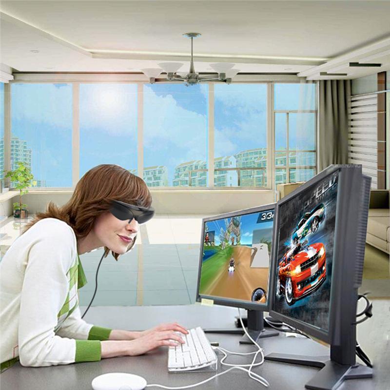 HD922 98 Inch 3D Video Glasses