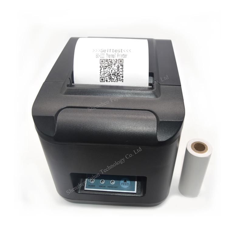 SALE US Plug 80mm WIFI Wireless POS Thermal Receipt Printer with Auto Cutter to USA POS-8320(China (Mainland))