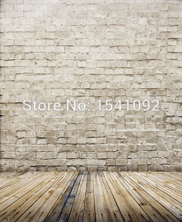 100x125cm photography background wood floor vinyl computer Printing photo backdrops for studio free shipping CM5674(China (Mainland))