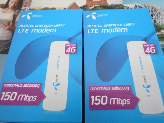 Здесь можно купить  4G LTE modem 3G USB ALCATEL L800  Компьютер & сеть
