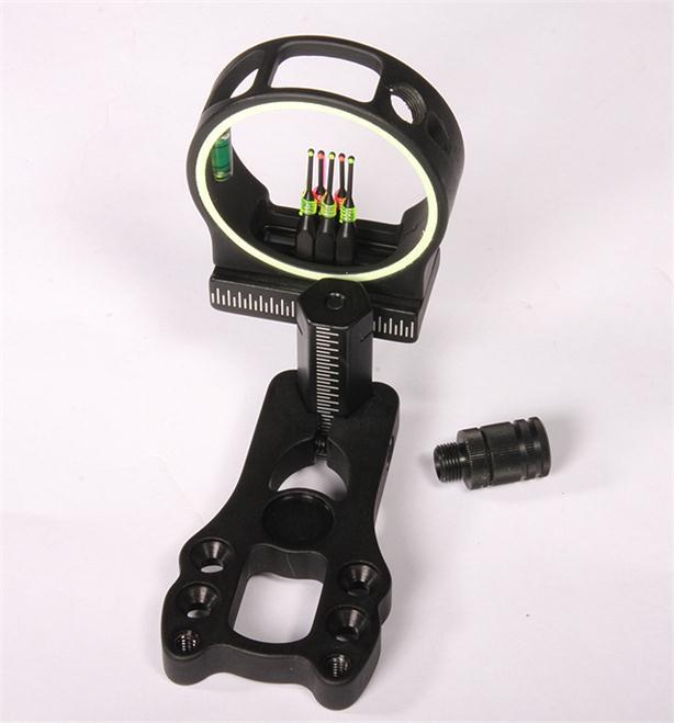 Free Shipping Size3 8 32 Target Hunting Archery LED Bow Sight Light Thread for Compound Bow