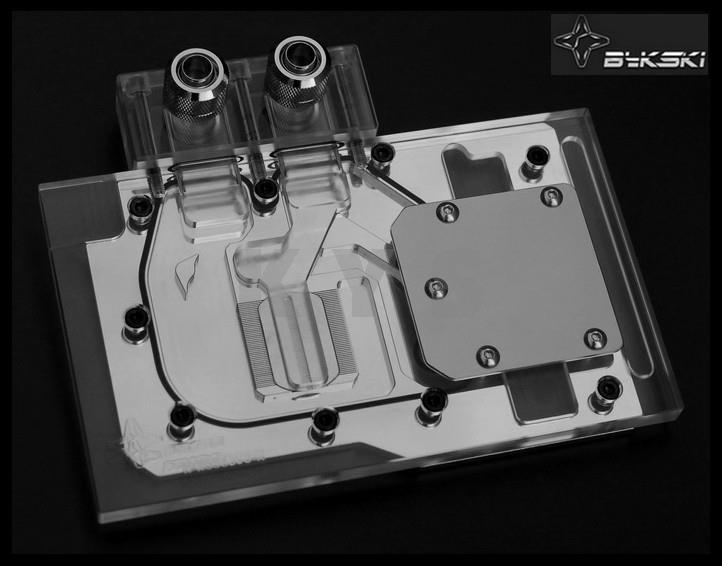 Фотография Bykski N-AS98EVO-X for ASUS GTX980 970 780 VGA Water Cooling Block