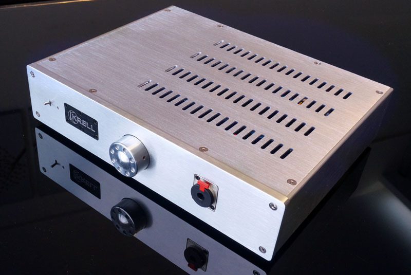 aluminum enclosure chassis case headphone preamp amplifier DIY audio(China (Mainland))