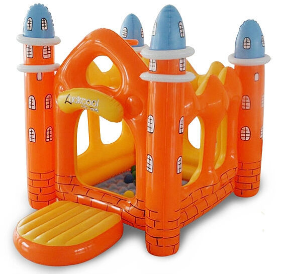 Free Shipping Inflatables Bouncer Castle,Trampoline Bouncy Toy For Children,Kids Outdoor Inflatable House with Balls,baby castle(China (Mainland))