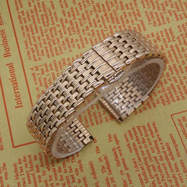 Новая замена из нержавеющей стали watchband браслеты для даниэль веллингтон часы мужчины женщины часы аксессуары 18 мм 20 мм