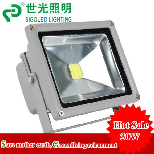 Фотография Free Shipping outdoor light led flood light led spotlight cob led flood light 30w  1650-1950lm AC85-265V