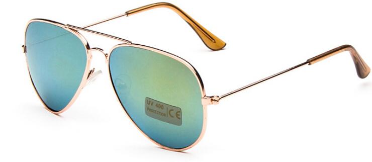 2015 New Fashion Baby Boys Kids Sunglasses Aviator Style Brand Design Children Sun Glasses 100 UV