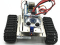 aluminium alloy metal Smart car chassis tank robot