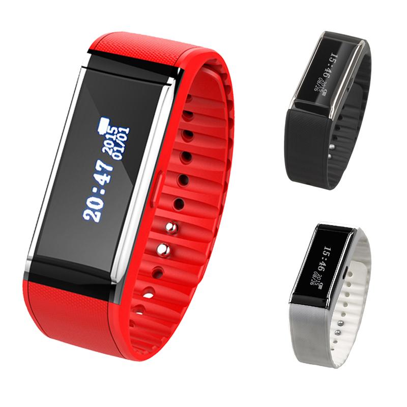 Bluetooth 3.0 Smart Wrist Band Bracelet Watch Health Calorie Pedometer Fitness Tracker Smart Bracelet Red/Black/White(China (Mainland))