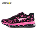 ONEMIX Woman Running Shoes Women Nice Run Athletic Trainers Peach Zapatillas Sports Shoe Max Cushion Outdoor