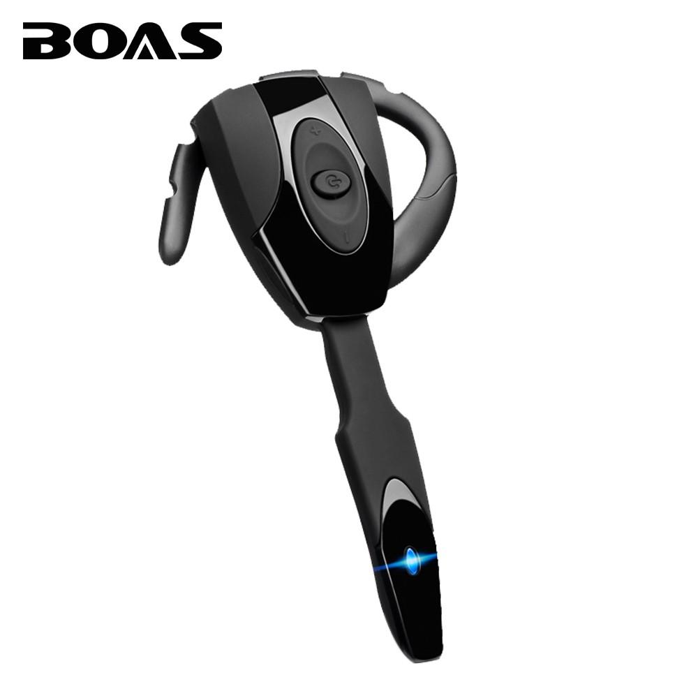 BOAS bluetooth 4.1 wireless headphones earphone headset with microphone mini handfree ear hook headset for iphone xiaomi samsung(China (Mainland))