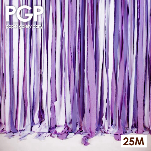 [PGP] purple Crepe Paper Streamers, for Wedding Kids Girls Birthday Engagement Bridal Showers Hen Party Decoration Backdrop(China (Mainland))