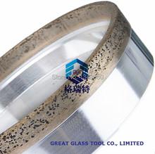 Alta calidad 130 * 12 * 8 * 8 cristal diamante muela