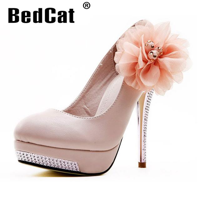 Женщины туфли на каблуках свадебные платформа каблуке , леди туфли на высоком каблуке ...
