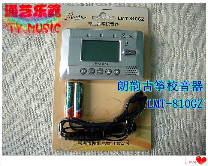 Hot promotions genuine LMT-810GZ Guzheng Tuner / tuner / metronome Liaoyang through art instruments(China (Mainland))
