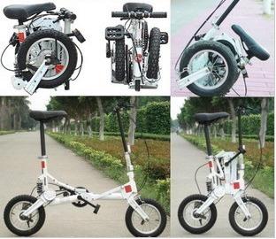 To Hong Kong Taiwan Free!! Super mini size mini 12'' folding bicycle/bike bicycles folding for sale(China (Mainland))
