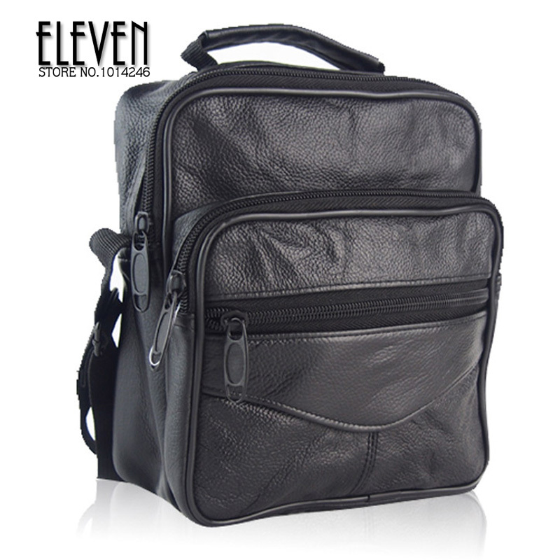 men messenger bags fashion Genuine leather Shoulder man Bag Full Grain Leather Cross Body Bags Tumble Texture Leather Bag free(China (Mainland))
