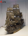 RealTS Black Pearl ship boat kit 1 96 scale 3d Laser Cut Diy Black Pearl Model