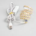1m 2m 5V USB LED Strip Light 2835 90leds m Waterproof LED Tape Ledstrip Bar Lamp