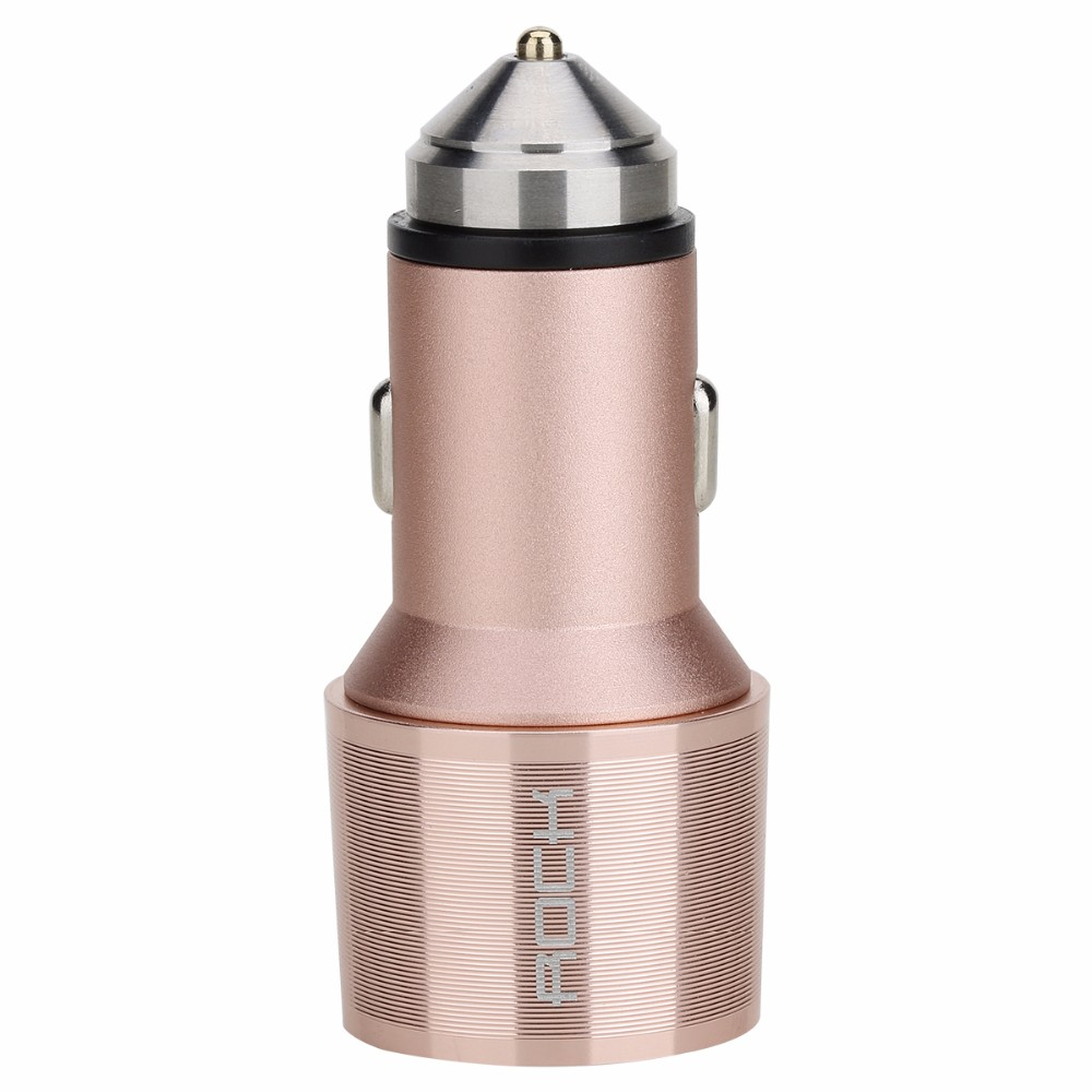 ROCK Car Charger with Emergency Hammer (8)