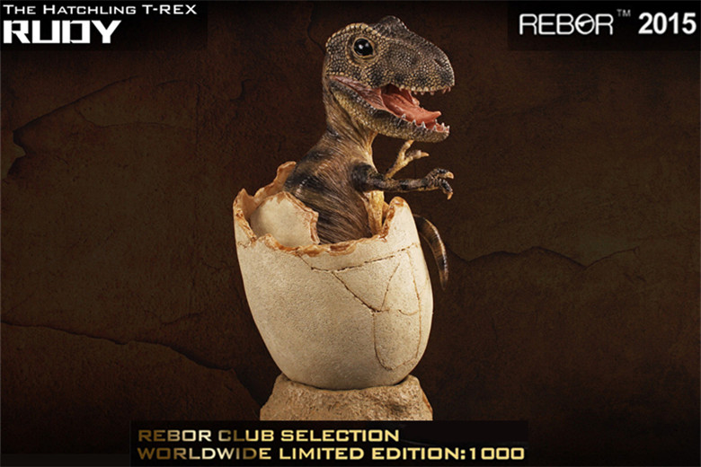 REBOR The Hatchling TREX RUDY Statue Global Exclusive Limited Edition(China (Mainland))