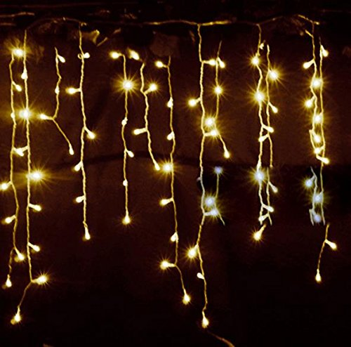 Christmas String Lights 4m Droop 0.5-0.7m Curtain Icicle Lights AC220V Lighting Waterproof Outdoor Decoration Light(China (Mainland))