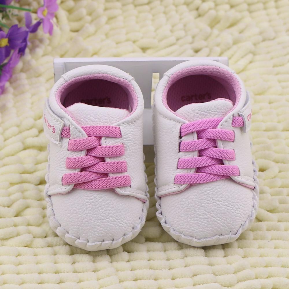 baby girls shoes Brand Name carters girl first walker newborn bebes leather moccasins infantil sapatos toddler tenis menino(China (Mainland))