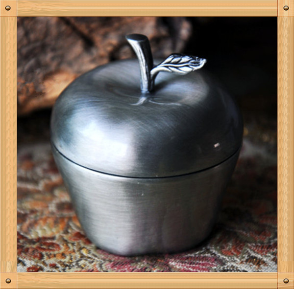 Apple Jewelry Box Apple Jewelry Box Metal Ring