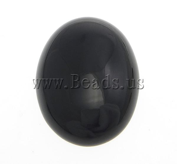 Free shipping!!!Agate Cabochon,Clearance, Black Agate, Oval, natural, smooth, black, 30x40mm, 50PCs/Lot, Sold By Lot<br><br>Aliexpress