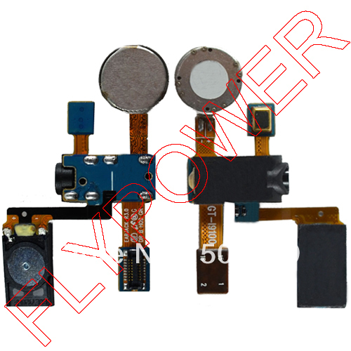 100% original Audio flex cable with Earphone Jack and Ear Speaker for Samsung Galaxy S2 SII I9100 by free shipping(China (Mainland))