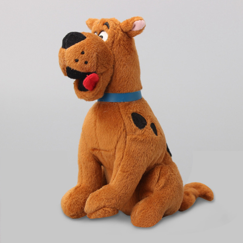 16cm Soft Plush Cute Scooby Doo Dog Dolls Stuffed Toy High Quality Nice Car Decoration Baby Appease Toy Plush Playting For Kids(China (Mainland))