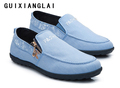 2017 Canvas Loafers Men Low price Shoes Mens Breathable Casual Driving Shoes Jeans Canvas Casual Shoes