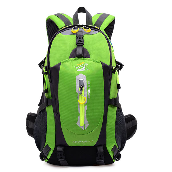 40L large capacity Waterproof Nylon Outdoor Backpack Hiking Bags Camping Sports shoulder bags Durable Cycling Bag Drop shipping - YEAH FASHION OUTDOOR store