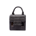 MINI Bag 2016 New Fashion Handbag Trendy Rivets studded Flap Bag Korean Style Designer Shoulder Bag