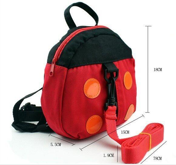 Kid Хранитель Детские ремни безопасности Детские Walker Малыш Ребенок Ремни безопасности Поводья ремни рюкзака Bat Bag Anti-потерял Прогулки Крылья