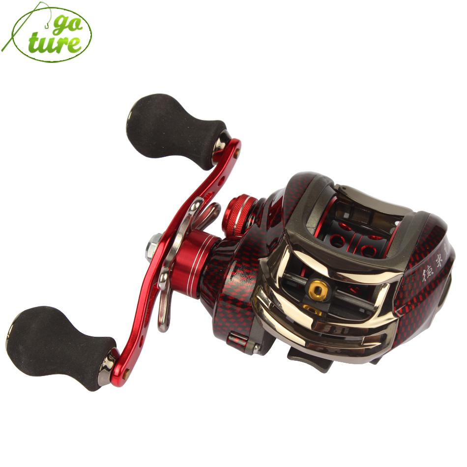 Goture DM120RA Baitcasting Fishing Reel 12BB 6.3:1 Bait Casting Fishing Wheel Carp Feeder Reels Left/Right Handed